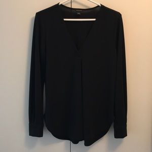 Ann Taylor Pleat Front Top